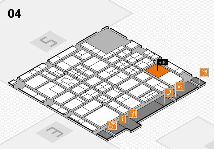 Tube 2016 hall map (Hall 4): stand B30
