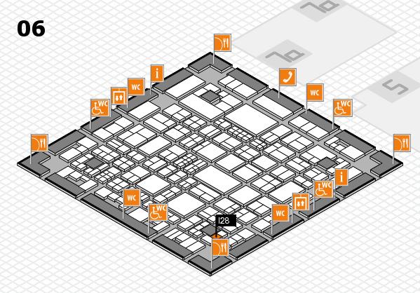 Tube 2018 hall map (Hall 6): stand I28