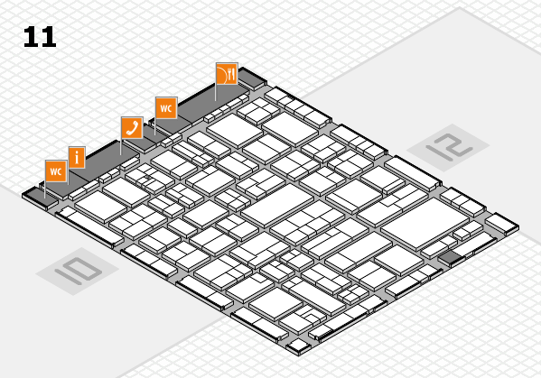 wire 2018 hall map (Hall 11): stand B73