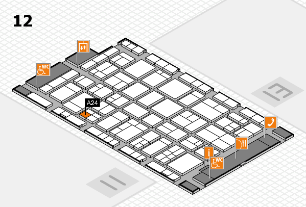wire 2018 hall map (Hall 12): stand A24