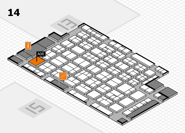 wire 2018 hall map (Hall 14): stand A06