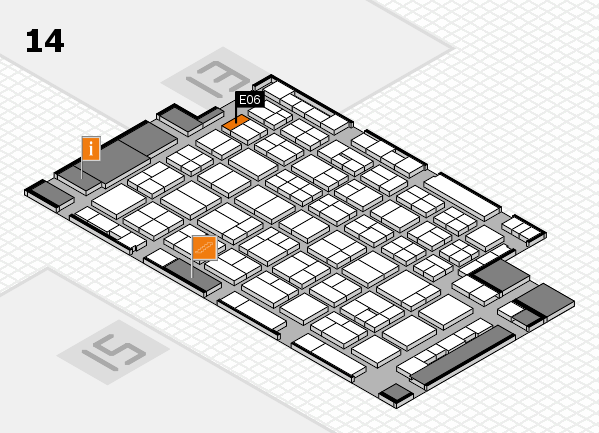 wire 2018 hall map (Hall 14): stand E06