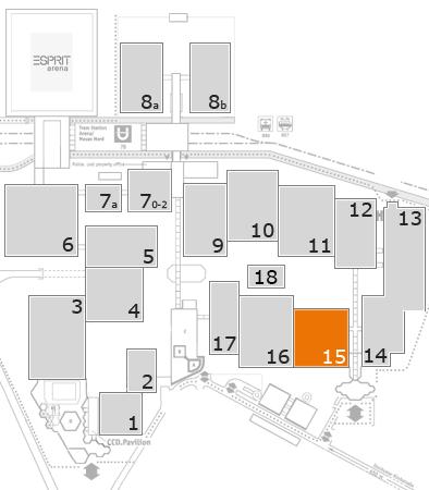 wire 2018 | Tube 2018 fairground map: Hall 15