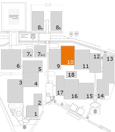 wire 2018 fairground map: Hall 10