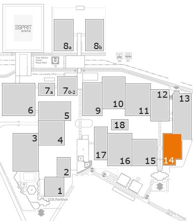 wire 2018 fairground map: Hall 14