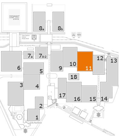 wire 2018 fairground map: Hall 11
