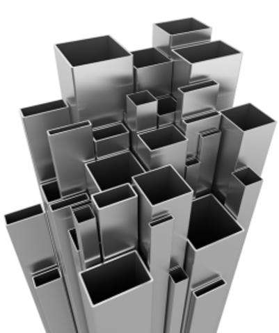 Stainless Steel Rectangular Box Sectio