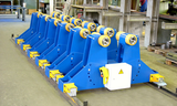 HANDLING EQUIPMENT – POSITIONERS AND ROLLERBEDS