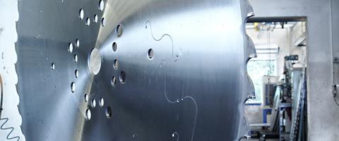 HM-Kreissägeblatt für Stahl