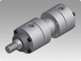Hydraulic cylinders in accordance with ISO 6020/1