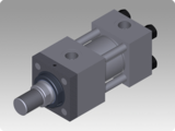 Hydraulic cylinders in accordance with ISO 6020/2