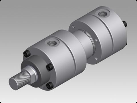 Hydraulische Zylinder Nach ISO 6020/1