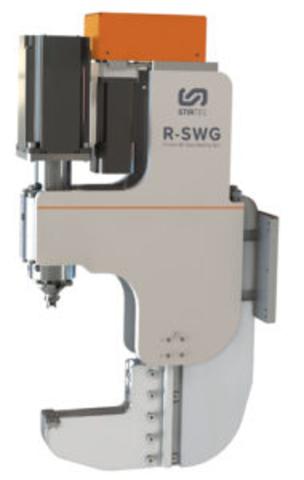 R-SWG (Friction stir spot welding gun)