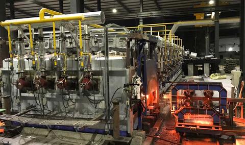 15 Tons Pusher type Reheating Furnace