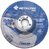 Artikel 388282 Edelstahl-Kombischeibe 100x3,4x16 mm METALYNX PRO INOX & METAL, gekröpfte Form