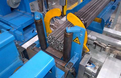 Rotor-Richtmaschinen - Richten und schneiden von Bewehrungsstahl vom Coil