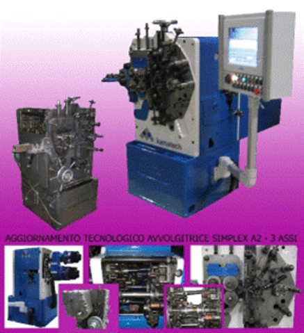 3 Axes Coiling Machine SIMPLEX