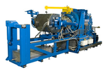 THE CONTINUOUS LEAD EXTRUSION LINES