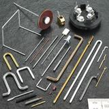 Metallic wires ans strips