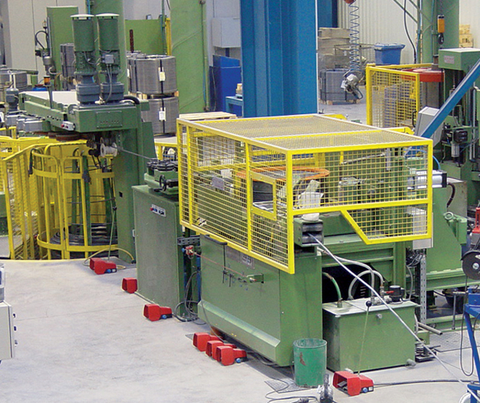 Einzelblock-Ziehmaschinen Vertikal- und Tandem-Ausführung