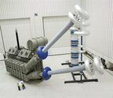 Wechselspannungs-Resonanzprüfsystem mit variabler Induktivität, Modulbauweise
