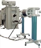Wechselspannungs-Resonanzprüfsystem mit variabler Induktivität, Stahltankbauweise