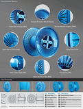 Collapsible Steel Cable Reels