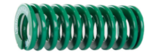 Light Load Die Springs - Green