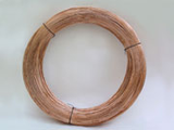 low carbon steel wire - copper plated; round and formed
