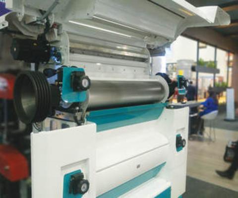 Rollenmotor mit Direktantrieb für die Schleifindustrie