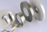 Calcined muscovite mica tape backed with fibre glass fabric