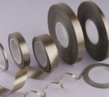 Phlogopite mica tape backed with polyester film